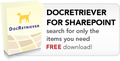 DocRetriever for Sharepoint 1
