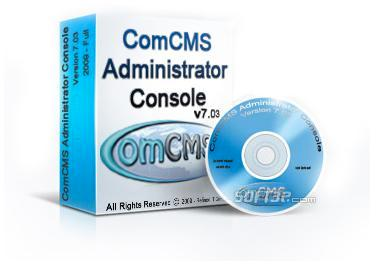 ComCMS Administrator Console Screenshot