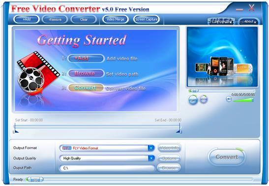 Abdio Free Video Converter Screenshot 2