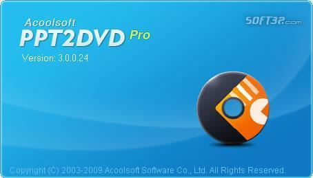 Acoolsoft PPT2DVD Screenshot 2