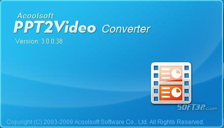 Acoolsoft PPT2Video Converter Screenshot 2