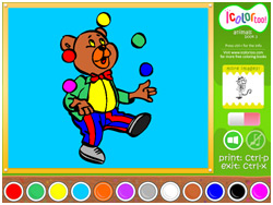 I Color Too: Animals 3 Screenshot 1