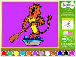 I Color Too: Animals 5 Screenshot