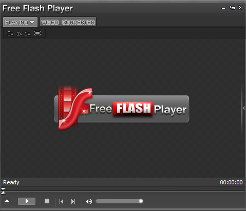 Free Flash Player (FLV Player) Screenshot 1