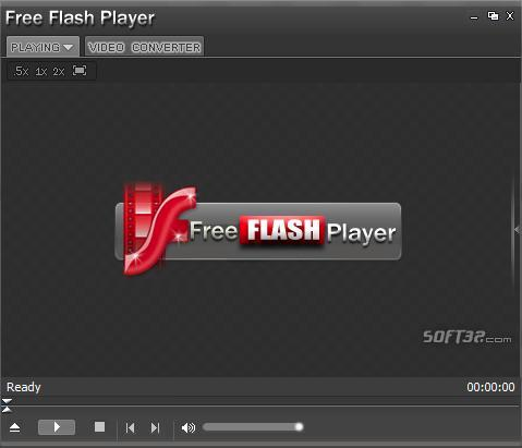 Free Flash Player (FLV Player) Screenshot 3