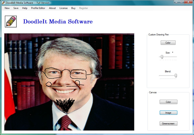 DoodleIt Media Software Screenshot