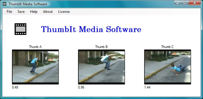 ThumbIt Freeware Screenshot