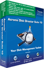 Acronis Disk Director Suite 10.0 Screenshot