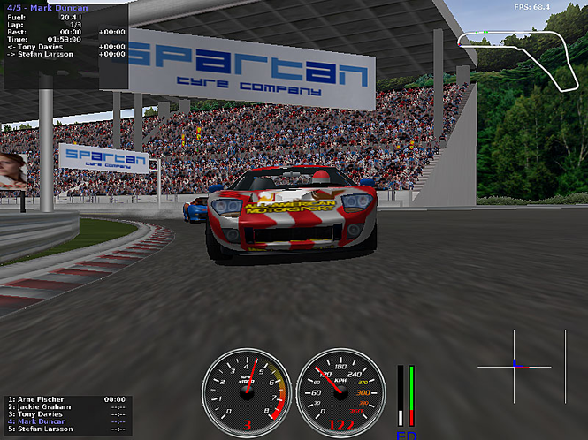 jalada Ultimate Racing Screenshot 1