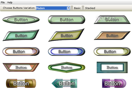TechnoRiverGraphics Button Maker Screenshot 3