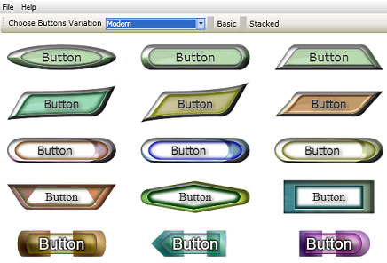 TechnoRiverGraphics Button Maker Screenshot