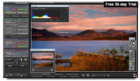 Sagelight 48-bit Image Editor Screenshot 1