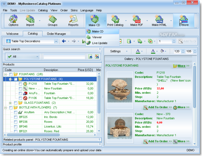 MyBusinessCatalog Platinum Ultimate License Screenshot 3