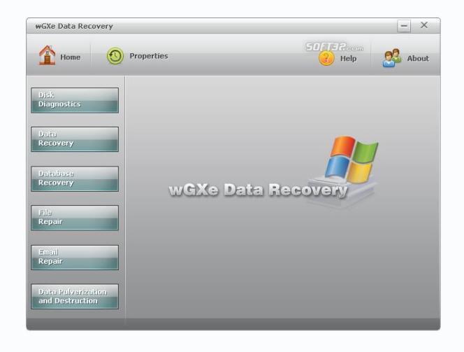 wGXe Data Recovery Screenshot 2