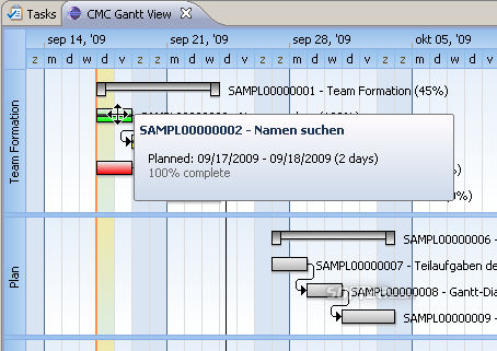 GanttChart for ClearQuest Screenshot 3