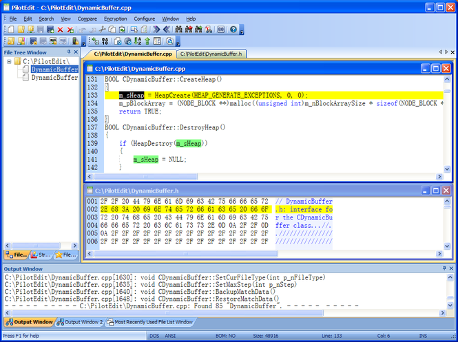 PilotEdit Screenshot 1