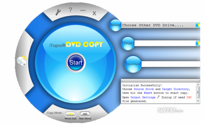iTopsoft DVD Copy Screenshot