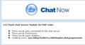 PHP-Nuke Chat Addon for 123 Flash Chat 1