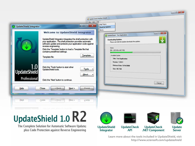 UpdateShield Screenshot 1