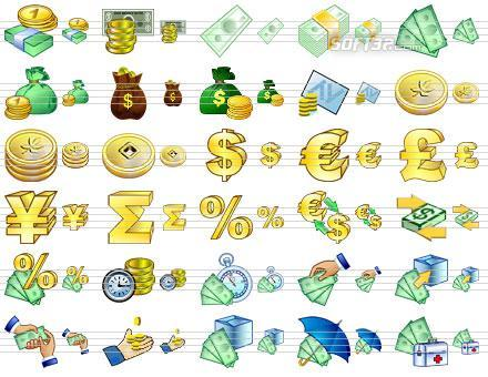 Large Money Icons Screenshot 2
