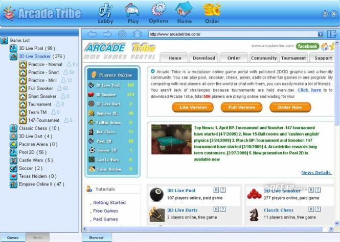 Arcadetribe Screenshot 2