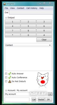 Enigma Softphone Screenshot 1