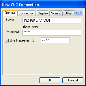 VNCViewer Library for .NET with repeater support Screenshot 2