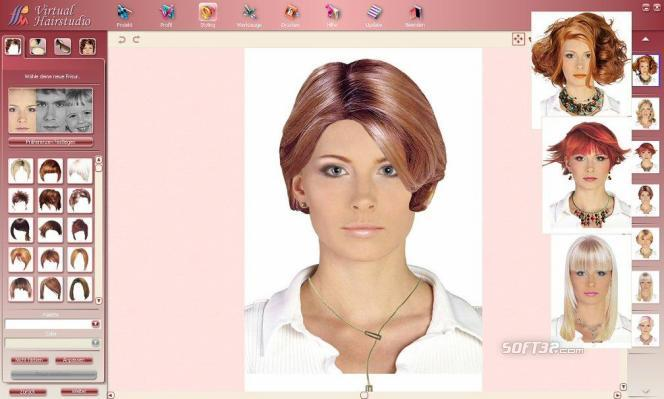 Virtual Hairstudio Salon Edition Screenshot 2