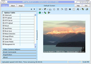 Willing Webcam Lite Screenshot