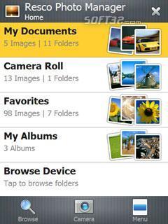 Resco Photo Manager Screenshot 2