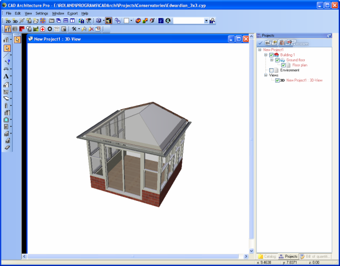 CAD Architecture PRO - Architectural Design Software Edition Screenshot 6
