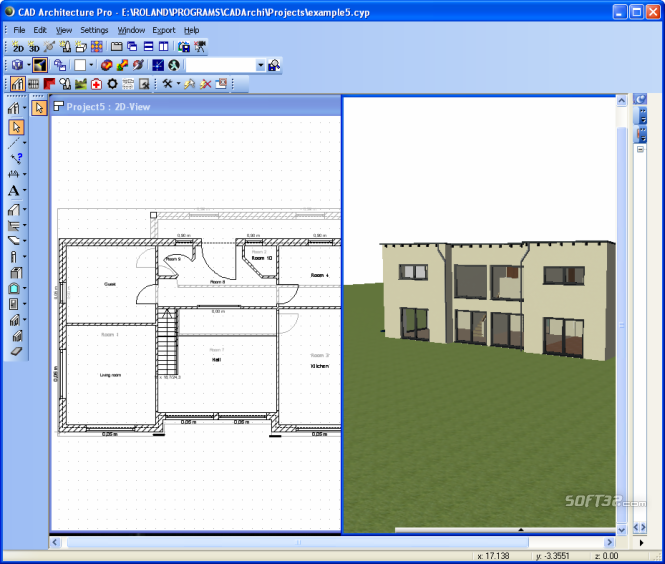 CAD Architecture PRO - Architectural Design Software Edition Screenshot 7
