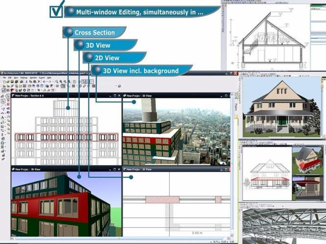 CAD Architecture PRO - Architectural Design Software Edition Screenshot 2