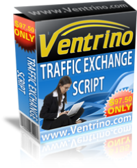 Ventrino Professional Traffic Exchange Script Screenshot
