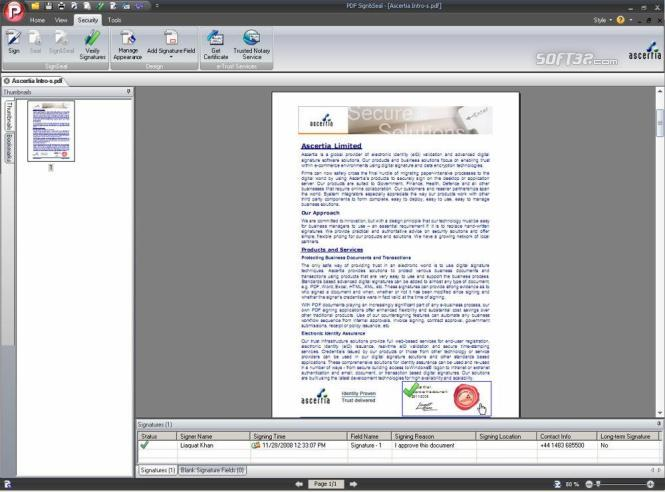 PDF Sign&Seal Screenshot 3