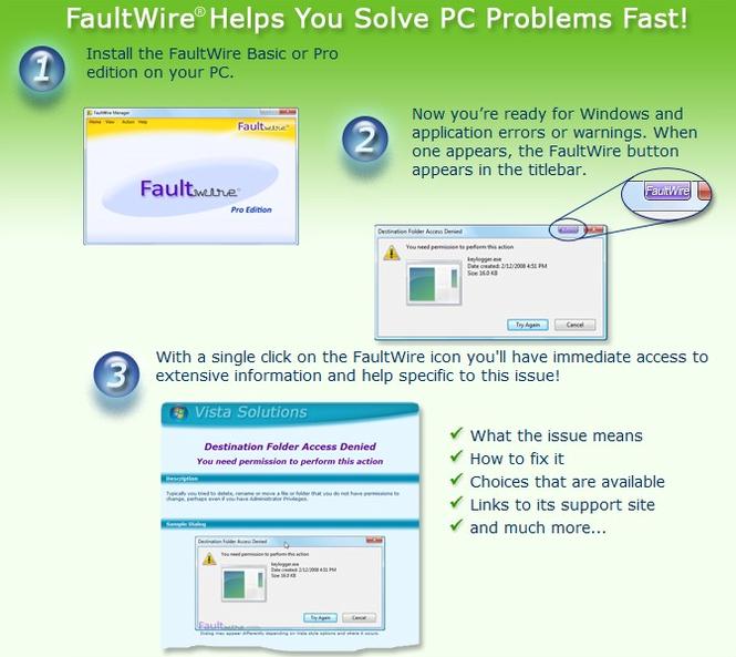 FaultWire Basic Screenshot