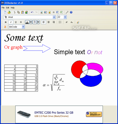 OCRedactor Screenshot 1