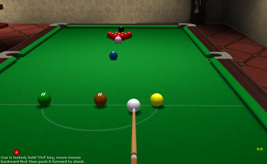 Snooker Game Online Screenshot 1