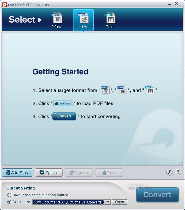 PDF Converter(Christmas Version) Screenshot 3