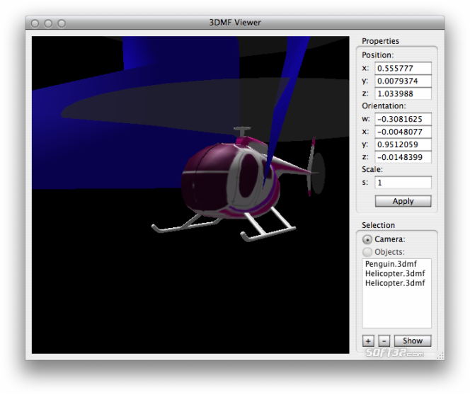 3DMF Viewer Screenshot 1