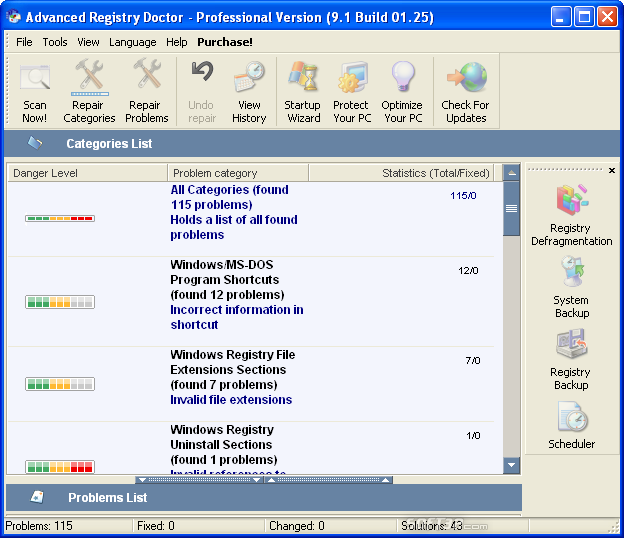 Advanced Registry Doctor Pro Screenshot 4