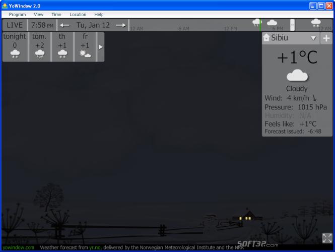 Desktop weather Screenshot 4