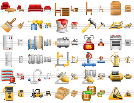 Perfect Warehouse Icons Screenshot 1
