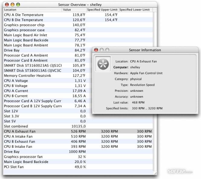 Hardware Monitor Screenshot 3