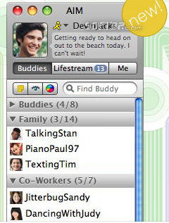 AIM for Mac Screenshot