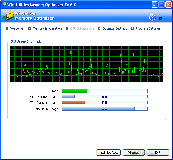 WinUtilities Free Memory Optimizer Screenshot 5