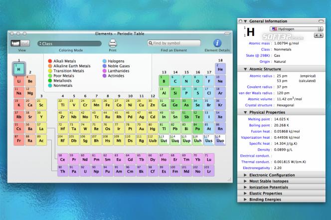 Elements Screenshot