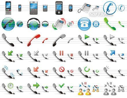 Phone Toolbar Icons Screenshot 2