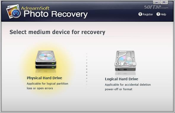 AdreamSoft Photo Recovery Screenshot 2
