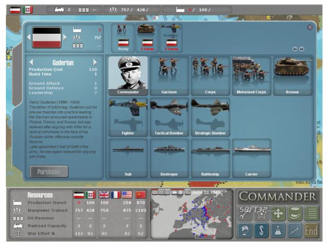 Commander Europe at War Screenshot 2